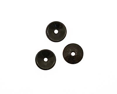 C-Koop Enameled Metal Black Chip 3-4x12-13mm