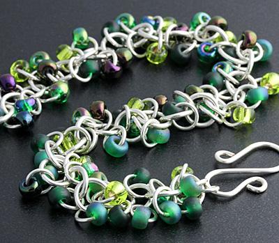 Weave Got Maille Frog Princess Shaggy Loops Bracelet Kit