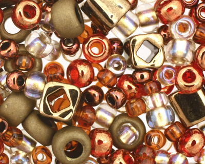 TOHO Ocha Bronze Seed Bead Mix