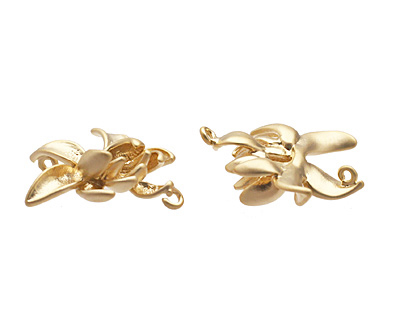 Ezel Findings Gold (plated) Lotus Flower 19mm