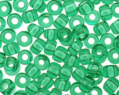 TOHO Transparent Beach Glass Green Round 8/0 Seed Bead