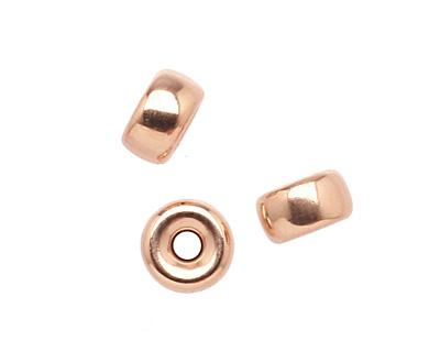 Rose Gold-Filled Rondelle 6x4mm