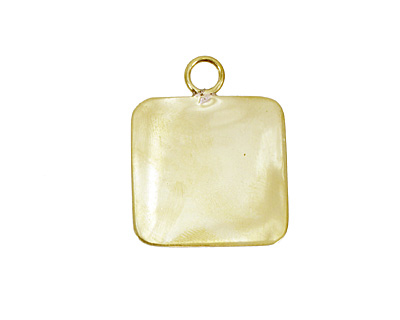 Brass Lipped Square Bezel 19mm