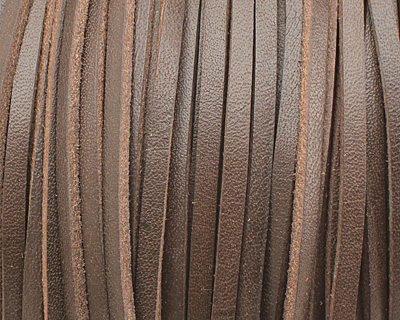 Dark Brown Leather Belting Lace 3mm