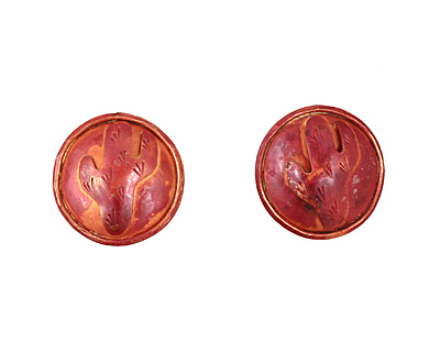 Patricia Healey Copper Cactus Button 24mm