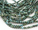 African Turquoise (A) Round 6mm