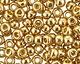 TOHO Permanent Galvanized Golden Fleece Round 8/0 Seed Bead