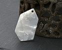 Zola Elements Pearl Acetate Gem Cut Focal 18x31mm