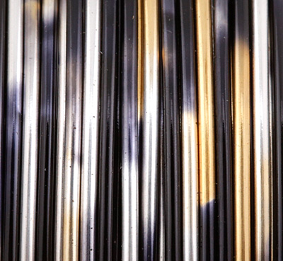 Artistic Wire MultiColor Silver/Gold/Black 20 Gauge, 4 Yards