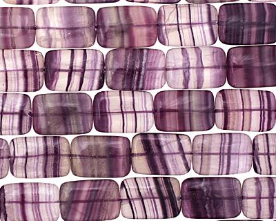 Rainbow Fluorite Thin Pillow 23x16mm