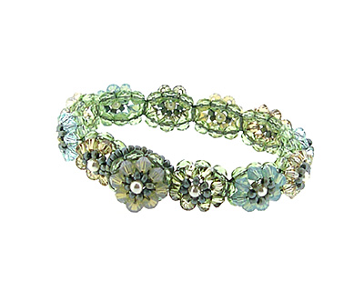 Glass Garden Cape Cod Blooming Crystals Bracelet Kit