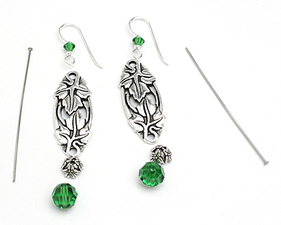 TierraCast Emerald Isle Earring Kit