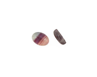 Rainbow Fluorite Oval Cabochon 10x14mm
