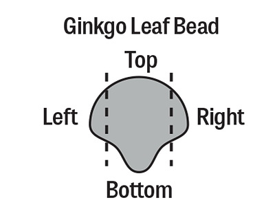 Matubo Czech Glass Dark Plum Metallic Suede 2-Hole Ginkgo Leaf 7.5mm