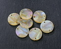 Zola Elements Opal Acetate Coin Link 14mm