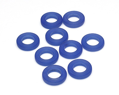 Royal Blue Recycled Glass Ring 16mm