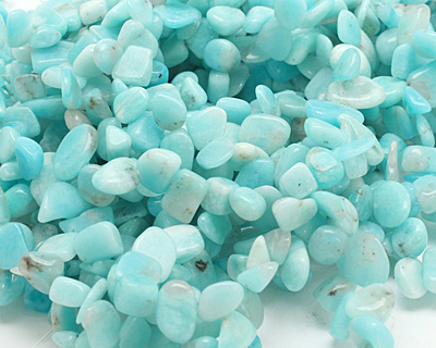Amazonite Tumbled Nugget Drop 6-12x8-15mm