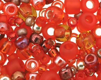 TOHO Momiji Red Seed Bead Mix