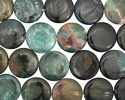 Bloodstone Puff Coin 30mm