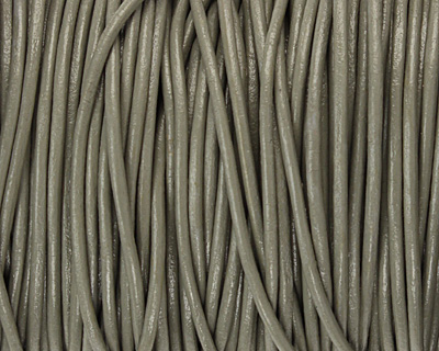 Coconut Round Leather Cord 2mm