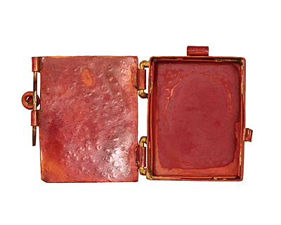 Patricia Healey Copper Butterfly Locket 40x44mm