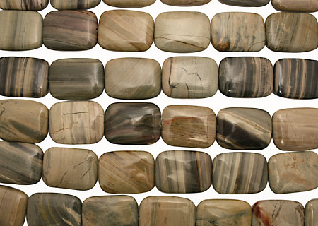 Silver Creek Jasper Thin Pillow 40x30mm