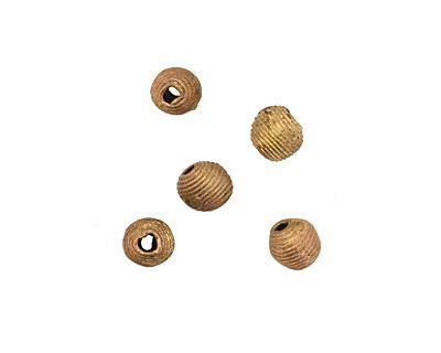 African Brass Corrugated Round 11-12mm