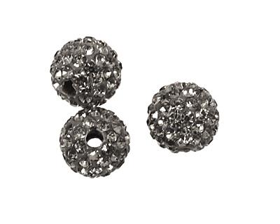 Black Diamond Pave Round 8mm