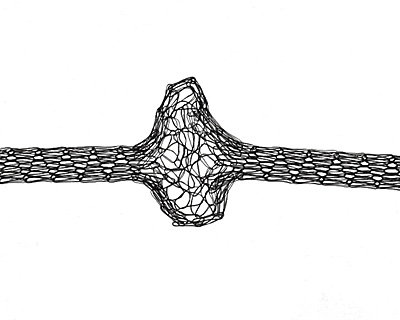 WireLace Black Ribbon 3mm