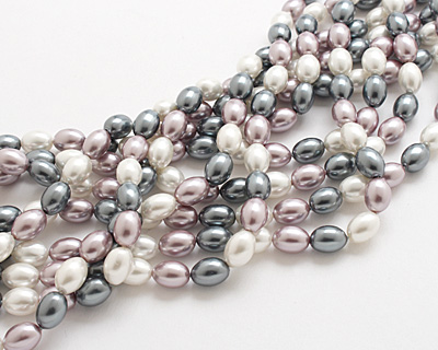 Winter Shell Pearl Mix Rice 11x8mm