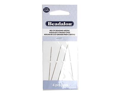 Beadalon Big Eye Beading Needle 2.25 inches