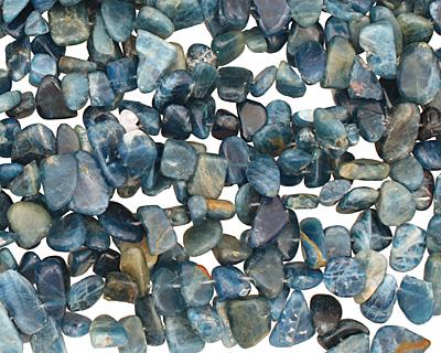 Pacific Blue Apatite Freeform Nugget Drop 7-12x8-20mm