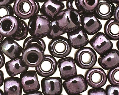 TOHO Metallic Amethyst Gun Metal Round 6/0 Seed Bead