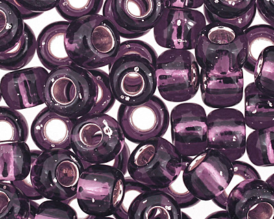 TOHO Amethyst (with Silver Lining) Round 6/0 Seed Bead