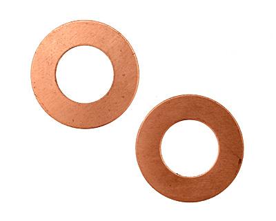 Copper Ring Blank 25mm
