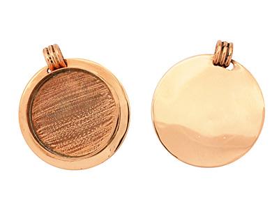 Copper Lipped Circle Bezel 36mm