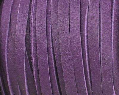 Violet Deertan Leather Lace 3mm