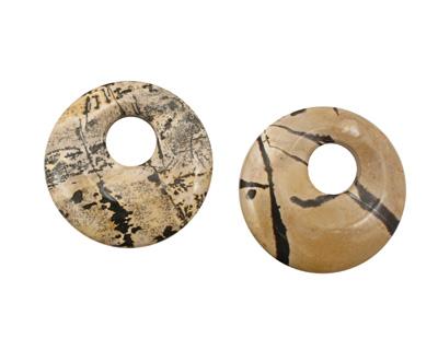 Artistic Stone Off Center Donut 50mm