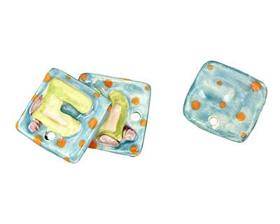 Jangles Ceramic Sewing Machine Pendant 27mm