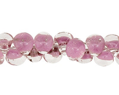 Unicorne Beads Pastel Purple Teardrop 7x9mm
