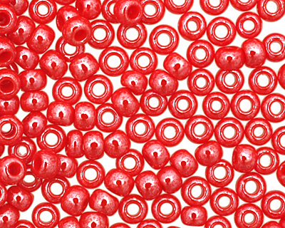 TOHO Opaque Lustered Cherry Round 11/0 Seed Bead