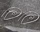 Nina Designs Sterling Silver Spiral Earwire 27x36mm