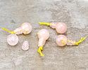 Rose Quartz Round Guru Bead 12mm
