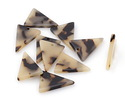 Zola Elements Light Tortoise Shell Acetate Triangle Focal 16x21mm