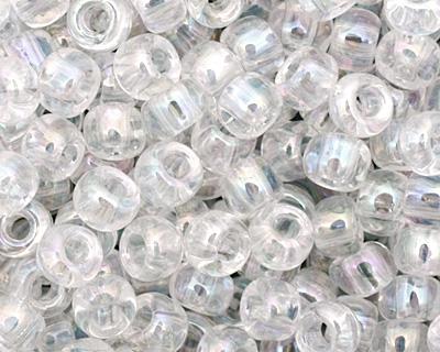 TOHO Transparent Rainbow Crystal Round 8/0 Seed Bead