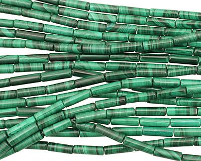 Malachite Tube 13x4mm
