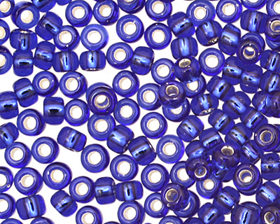 TOHO Cobalt (with Silver Lining) Round 11/0 Seed Bead