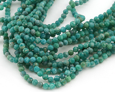 Russian Amazonite Faceted Round 5mm