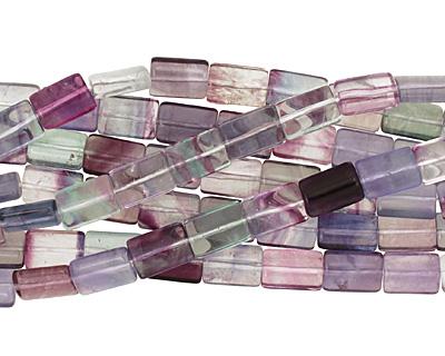 Rainbow Fluorite (A) Thin Pillow 14x10mm