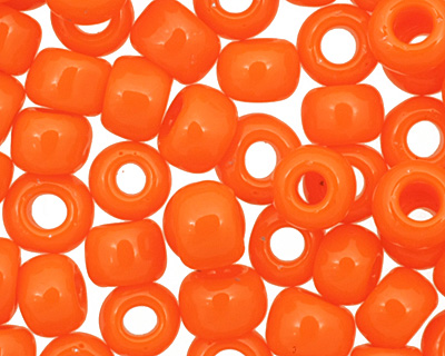 TOHO Opaque Sunset Orange Round 6/0 Seed Bead